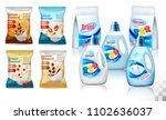 laundry detergent package... | Shutterstock .eps vector #1102636037