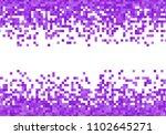 purple violet vector pixel... | Shutterstock .eps vector #1102645271
