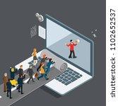 new way in modern technology era | Shutterstock .eps vector #1102652537