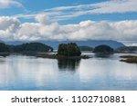landscape near sitka   Shutterstock . vector #1102710881