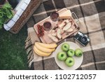 enjoy your dinner in the nature.... | Shutterstock . vector #1102712057