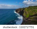 maui sea coast   Shutterstock . vector #1102717751