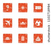 course of voyage icons set.... | Shutterstock .eps vector #1102718984