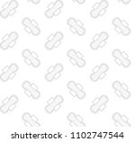 vector seamless drawn line pad... | Shutterstock .eps vector #1102747544