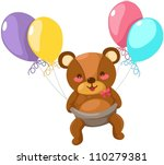 illustration of isolated baby... | Shutterstock .eps vector #110279381