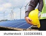 young business man engineer... | Shutterstock . vector #1102830881