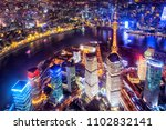 aerial view of the shanghai... | Shutterstock . vector #1102832141