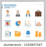 business icon and illustration | Shutterstock .eps vector #1102847267