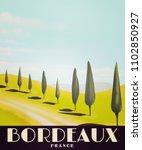 Bordeaux France Vintage Style...