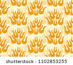 abstract background with flame.  | Shutterstock . vector #1102853255