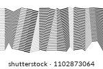 black and white stripe line...   Shutterstock .eps vector #1102873064