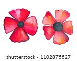 illustration of a colored... | Shutterstock . vector #1102875527