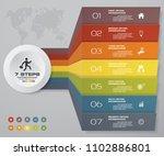 7 steps infographics element...   Shutterstock .eps vector #1102886801