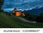 vaduz castle in lichtenstein | Shutterstock . vector #1102888637