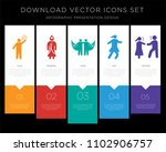 5 vector icons such as man... | Shutterstock .eps vector #1102906757