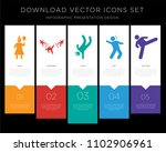 5 vector icons such as woman...   Shutterstock .eps vector #1102906961