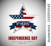 4 th july usa star ... | Shutterstock .eps vector #1102910165