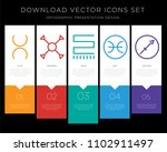 5 vector icons such as tin ... | Shutterstock .eps vector #1102911497