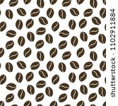 seamless pattern of the coffe.... | Shutterstock .eps vector #1102911884