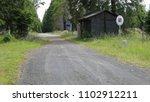 czech border road sign  czech... | Shutterstock . vector #1102912211