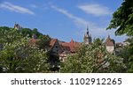 view of the old town of... | Shutterstock . vector #1102912265