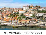 aerial view of porto in... | Shutterstock . vector #1102912991