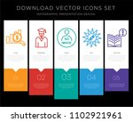 5 vector icons such as value... | Shutterstock .eps vector #1102921961