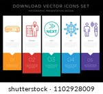 5 vector icons such as dvr ...   Shutterstock .eps vector #1102928009