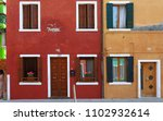 burano  italy  april 24  2018   ... | Shutterstock . vector #1102932614