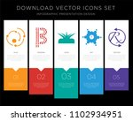 5 vector icons such as agile ... | Shutterstock .eps vector #1102934951
