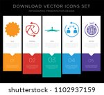 5 vector icons such as erp  rx  ... | Shutterstock .eps vector #1102937159
