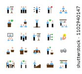 business people presentation... | Shutterstock .eps vector #1102940147