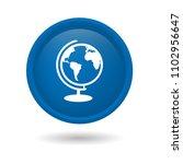 globe icon. designed for... | Shutterstock .eps vector #1102956647