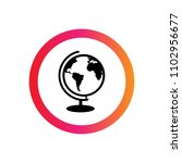 globe icon. designed for... | Shutterstock .eps vector #1102956677