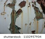 damaged painted old wall banner ... | Shutterstock . vector #1102957934