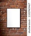 blank poster  mockup  project... | Shutterstock . vector #1102965467