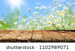 empty table background | Shutterstock . vector #1102989071