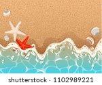 realistic vector background of... | Shutterstock .eps vector #1102989221