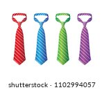 striped silk ties template.... | Shutterstock .eps vector #1102994057