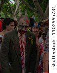 zombie walk sydney australia  2 ... | Shutterstock . vector #1102995731