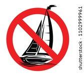 set no sign  ne seals isolated... | Shutterstock .eps vector #1102999961