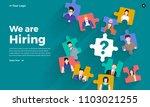 illustrate design concept the... | Shutterstock .eps vector #1103021255