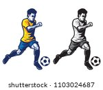 football player | Shutterstock .eps vector #1103024687
