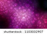 dark purple  pink vector... | Shutterstock .eps vector #1103032907