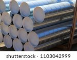 ventilation pipes on the... | Shutterstock . vector #1103042999