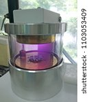 Small photo of Gold coating for scanning electron microscope by sputter coater