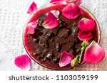 aromatic sweet red jam from... | Shutterstock . vector #1103059199