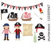 pirates and sailing collection | Shutterstock . vector #110305967