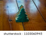 wood pine tree carving on wood... | Shutterstock . vector #1103060945