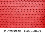 Red House's Roof Texture. Close ...